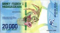 Madagascar 20000 Ariary - Factory - Fruits - 2017