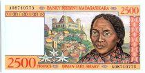 Madagascar 2500 Francs Femme - Tissage -1996