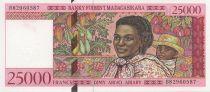 Madagascar 25000 Francs Femme et enfant - 1998
