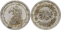 Madagascar 50 Centimes  Parrot - Gold mine of Andavakoera - 1920