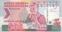 Madagascar 500 Ariary - Vieille dame - Animaux - 1993