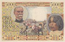 Madagascar 5000 Francs Galliéni - Specimen - 1950 - P.49as