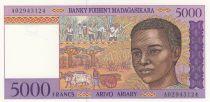 Madagascar 5000 Francs jeune garçon - ND1995