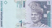 Malaisie 1 Ringitt T.A. Rahman - Fleurs et montagne - 1998