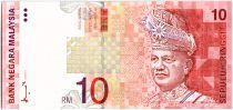 Malaisie 10 Ringgit, T.A. Rahman  - 1997 - P.42 a