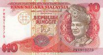 Malaisie 10 Ringitt T.A. Rahman - 1989 - P.29 - Neuf