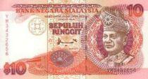 Malaisie 10 Ringitt T.A. Rahman - Gare - FCO - 1995