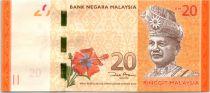 Malaisie 20 Ringitt, T.A. Rahman - Tortues de Mer - 2012
