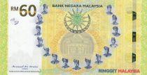 Malaisie 60 Ringitt - 60 ans de l\'Indépendance 1957-2017 - Hybride