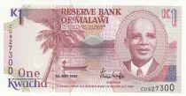Malawi 1 Kwacha 1992 - Hastings Kamuzu Banda