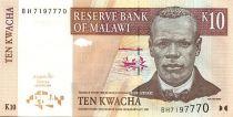 Malawi 10 Kwacha J. Chilembwe - Ecoliers du bush - 2004