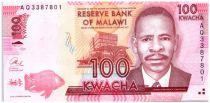 Malawi 100 Kwacha James Frederick Sangala - 2013