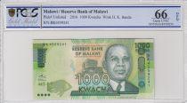 Malawi 1000 Kwacha, Hastings Kamuzu Banda - 2016 - PCGS 66 OPQ