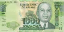 Malawi 1000 Kwacha Hastings Kamuzu Banda - 2012