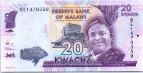 Malawi 20 Kwacha, Inkosi ya Makhosi M\'mbelwa - 2016
