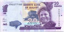 Malawi 20 Kwacha Inkosi Ya Makhosi M Mbelwa II - 2015