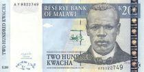Malawi 200 Kwacha J. Chilembwe - Banque Centrale - 2003