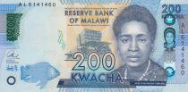 Malawi 200 Kwacha Rose Lomathinda Chibambo - 2016