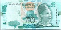 Malawi 50 Kwacha, Philip Gomani II - 2016