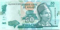 Malawi 50 Kwacha Philip Gomani II - 2015