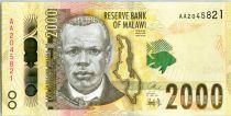 Malawi 500 Kwacha, Jose Chilembwe - Banque - 2016