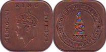 Malaya 1/2 Cent