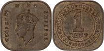 Malaya 1 Cent George V - 1945