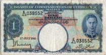 Malaya 1 dollar  George VI - Armoiries - 1941 E43