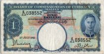 Malaya 1 dollar  George VI - Armoiries - 1941 E43
