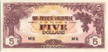 Malaya 10 Cents,  Japanese Government - 1942 - M3 b