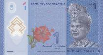 Malaysia 1 Ringitt T.A. Rahman  - Polymer - 2017