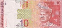 Malaysia 10 Ringitt T.A. Rahman - 1999 - P.42b - VF