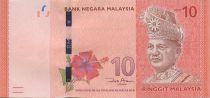 Malaysia 10 Ringitt T.A. Rahman - Rafflesia