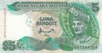 Malaysia 5 Ringitt T.A. Rahman - 1998 - P.35 - AU