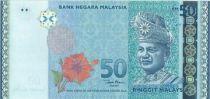 Malaysia 50 Ringitt T.A. Rahman - 50 years of reign