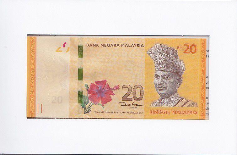 Malaysia CS.2012 20 Ringitt, T.A. Rahman Folder 20 Ringitt