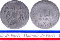 Mali 10 Francs - 1976 - Essai - Banque Centrale du Mali