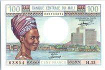 Mali 100 Francs  Femme - Fleuve Niger - 1972