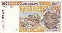 Mali 1000 Francs femme 1993 - Mali