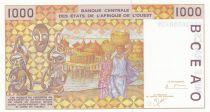 Mali 1000 Francs woman 2001 - Mali