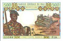 Mali 500 Francs Soldats - Caravanne et chameaux - 1973-84 - P 24