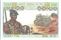 Mali 500 Francs Soldats - Caravanne et chameaux - 1973-84 - W 15