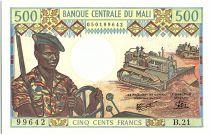 Mali 500 Francs Soldats - Caravanne et chameaux - 1973-84
