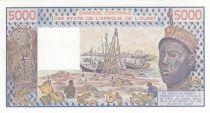 Mali 5000 Francs femme 1984- Mali - Série B.6