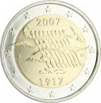 Malta 2 Euro 90 years of Independance - 2007 - AU