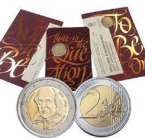 Malta 2 Euro DI SAN MARINO 2 euros - W. Shakespeare\'s 400th birthday - COINCARD BU - 2016