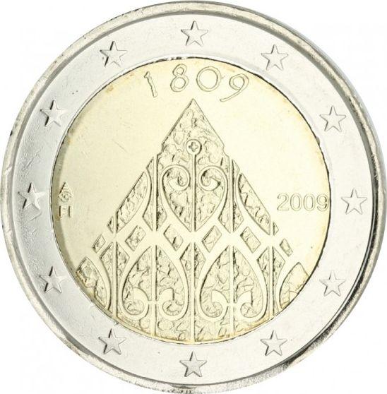 Malta 2 Euro Finland Independance  - 2009 - AU