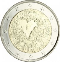 Malta 2 Euro Human Rights - 2008 - AU
