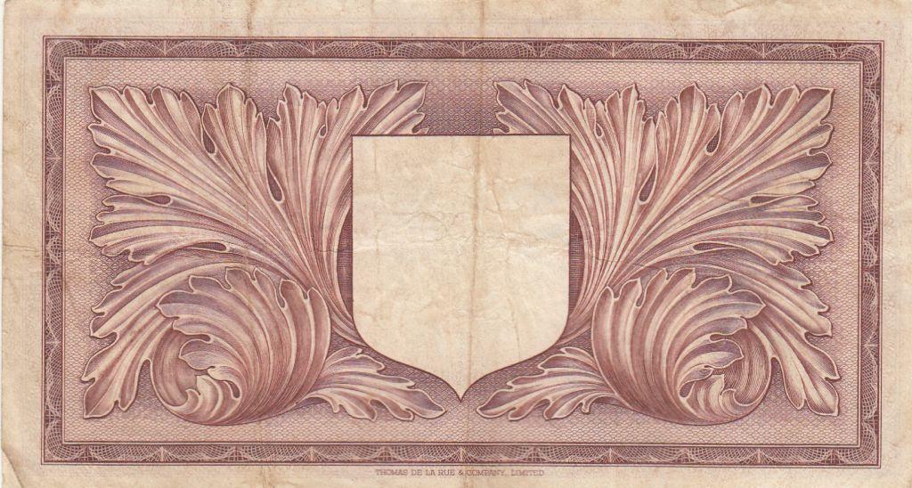 Malte 1 Pound L.1949 - George VI -  A/10 037798