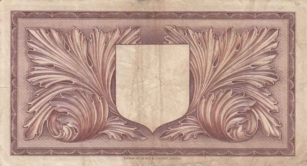 Malte 1 Pound L.1949 - George VI -  A/2 442161